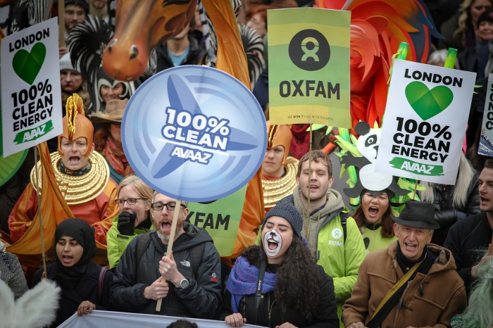 The People's March for Climate, Justice and Jobs – London. 29/11/15.